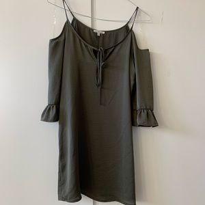 Charlotte Russe Cold Shoulder Shift Dress